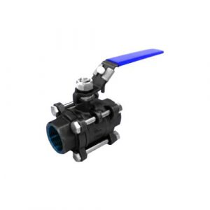 3-pc Cast Steel 316 Ball Valve